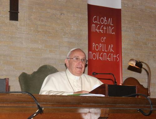 Discurso del Santo Padre Francisco a los participantes en el encuentro Mundial de los Movimientos Populares