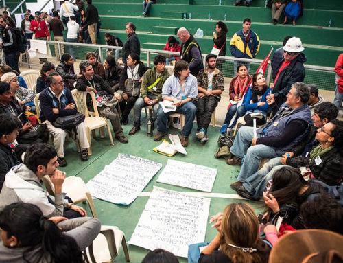 Tierra, Techo, Trabajo: de los debates de los participantes al EMMP a la Carta de Santa Cruz