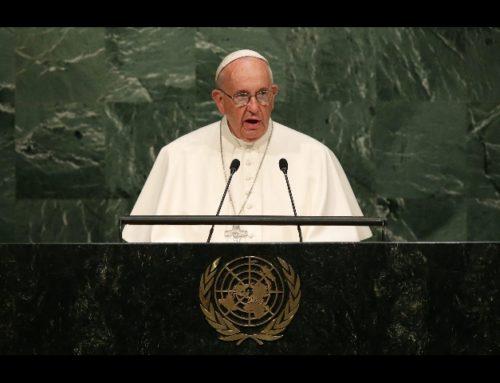 Tierra, Techo y Trabajo el mínimo absoluto para que todos puedan ejercer su dignidad. Papa Francisco en la ONU