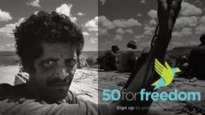 Foto: 50forfreedomcampaign