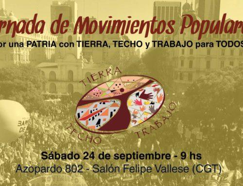 Jornada de Reflexión de los Movimientos Populares en Argentina