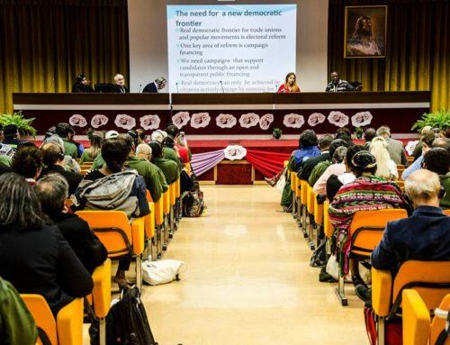 """Comienza el análisis y los diálogos del eje """"Pueblo y Democracia"""""""